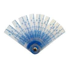 Jauge de remplissage de bouchon en plastique d'épaisseur 0.05-1mm, outil de mesure de l'écart avec feuille de PVC