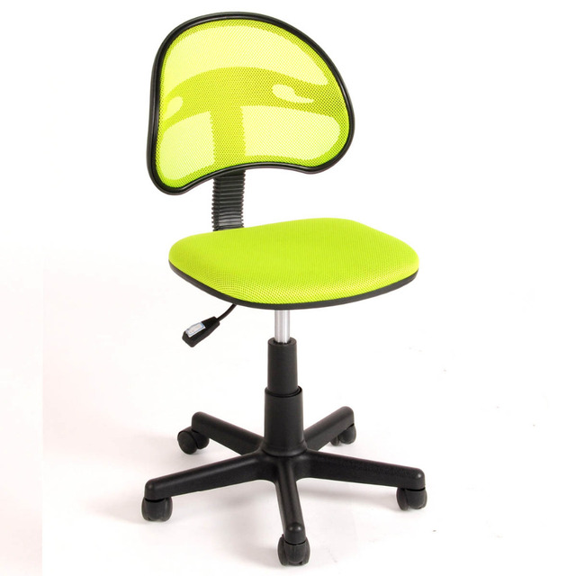 Aingoo Breathable Office Computer Chair Without Arms Fabric Pads Swivel Height Adjule 360 Degree Rotating Wheel