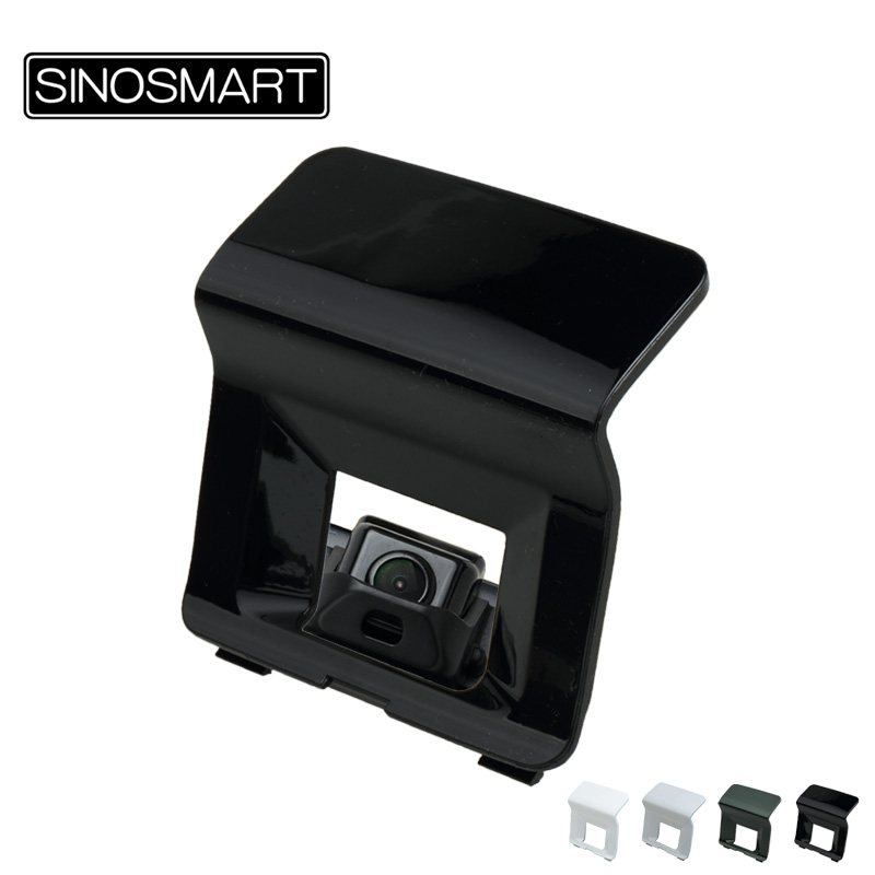 SINOSMART In Stock Car Rear View Parking Special Camera For Toyota Land Cruiser Prado On Spare Tire 2014 Green White And Black