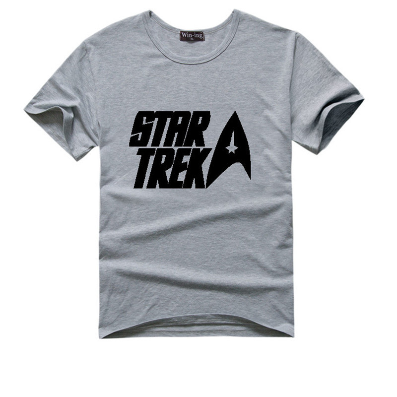 Superb Star Trek Logo T Shirt 5 Colors Available