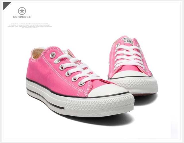 24eefc15788 Original Converse all star Aqua and pink color canvas shoes men s and  women s sneakers low classic