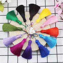 DIY fashion handmade ice silk tassel bookmark comb pendant package artificial jewelry