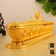 Tibetan lying incense Large accessories decoration buddhism supplies aromatherapy furnace copper incense holder