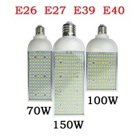 E26 E27 E39 E40 Energy saving high power Corn Bulb Aluminum Lamp 70W 100W 150W LED street Spot light 110V 220V Lampada Lighting