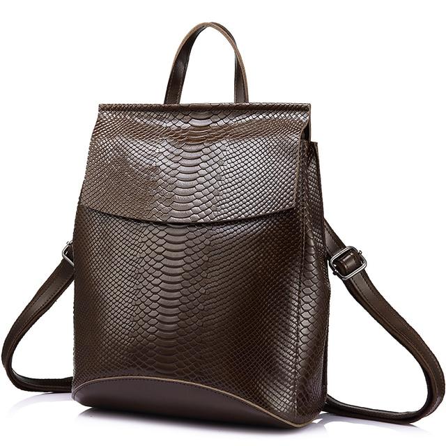 REALER рюкзак женский кожаный рюкзак школьный рюкзак для девочки женская школьная сумка женский рюкзак из сплит-кожи