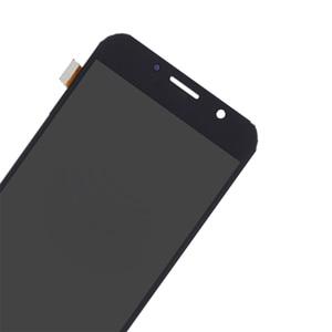 Image 3 - ЖК дисплей AMOLED для Samsung Galaxy A7 2017 A720 A720F, дигитайзер сенсорного экрана в сборе, детали для телефонов Galaxy A7 2017