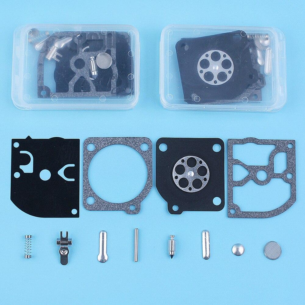 3pcs/lot Carburetor Carb Diaphragm Repair Gasket Kit For Husqvarna 136 137 141 142 ZAMA C1Q RB-137 Replacement Parts