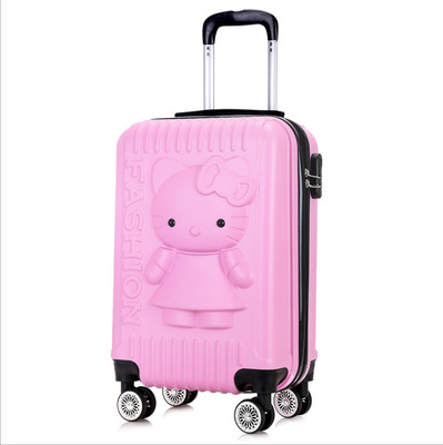 """Travel tale Super cute, fashionable 20""""/24"""" ABS Rolling Luggage Spinner brand Travel Suitcase"""