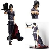 NARUTO Uchiha Itachi Akatsuki Shippuden Figurza Resin Figurine Anime Naruto Action Figure With Base In Box