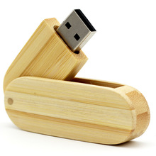 100pcs/lot wooden spin model usb2.0 flash drive 4GB 8GB 16GB 32GB 64GB pen drive thumb usb memory stick customized logo gift usb