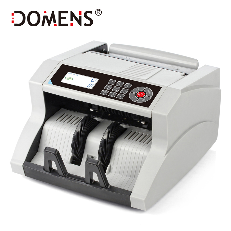 New Design LCD Display Bill Counter UV+MG+MT+IR +DD Detection DMS-1480T Special for Multi-Currency Cash Money Counting Machine ocbc 2108 low price bill counter with uv and mg function