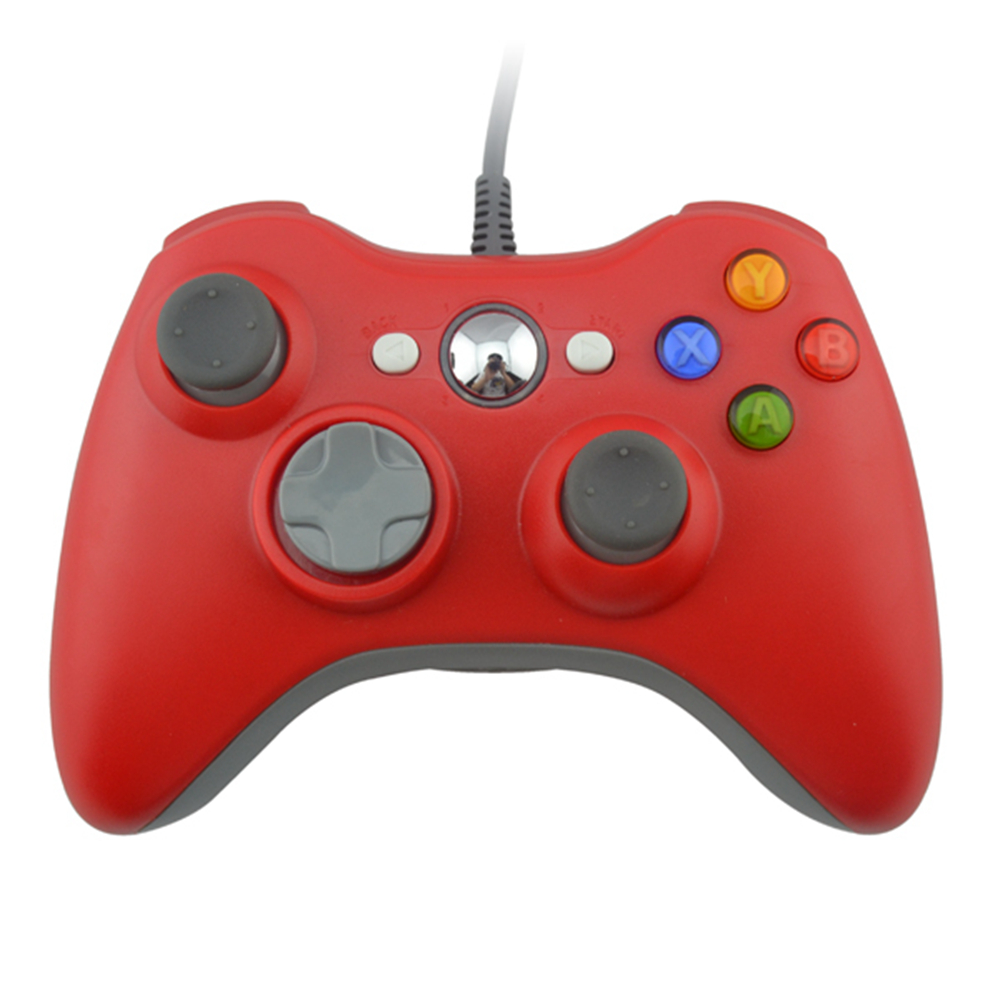 USB Handle Cable Controller for Microsoft for Xbox 360 Console PC Computer Video Game