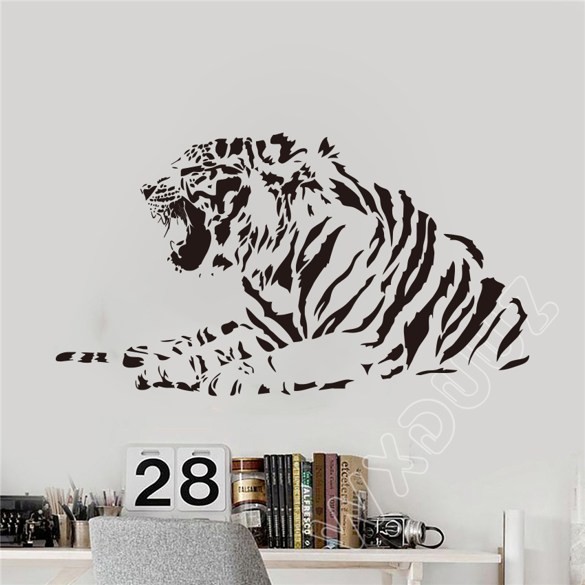 Wildlife Tiger Home Decor Wall Decals Wall Transfers Home