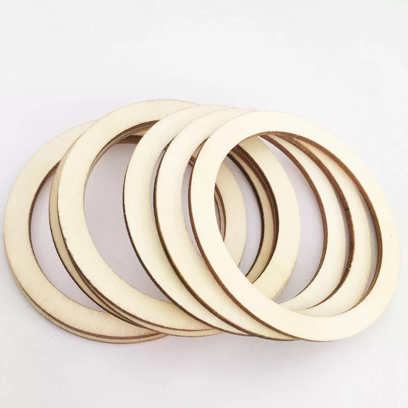 Ring Circle Wood Cutout Shape Silhouette Blank Unpainted Sign 18 thick      ***** FREE Shipping on orders 35 USD and above *****