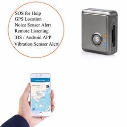 Hospital de Emergencia botón de llamada para el paciente de edad avanzada hogar SOS alarma GPS localizador del perseguidor voz escucha a distancia