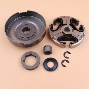 "Image 2 - Clutch Drum Sprocket Rim Washer Bearing Kit For Husqvarna 365 372 XP 372XP 371 362 Chainsaw Parts 3/8"" Pitch 7 Tooth"