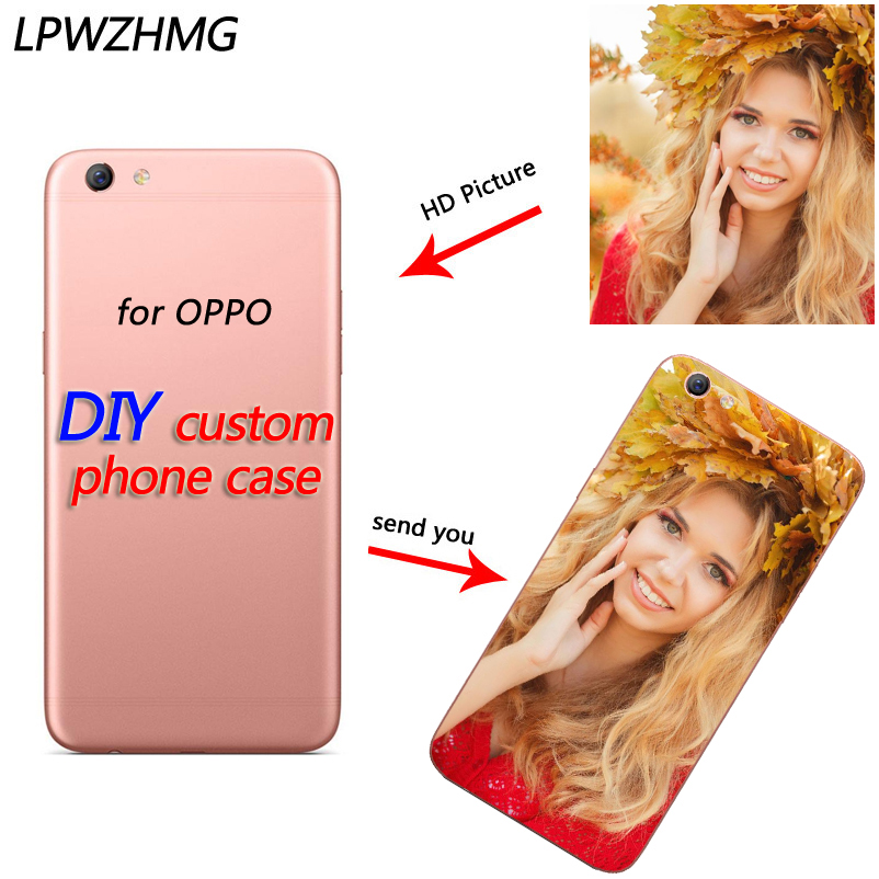 LPWZHMG DIY Custom Soft <font><b>Phone</b></font> <font><b>Case</b></font> For <font><b>OPPO</b></font> R9s R11Plus <font><b>A71</b></font> A77 A83 R15 Fitted <font><b>Case</b></font> Transparent TPU Back Cover DIY Photo <font><b>Cases</b></font> image