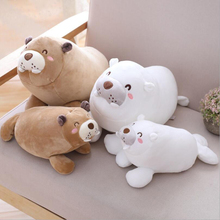 New Style Lovely Sea Lions Plush Toy Stuffed Ocean Animal Soft Doll  Children Birthday Gift