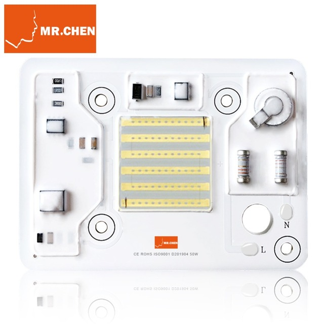 2019New 50W Led UV Lamp Chip 365 nm 395 nm Ultraviolet Cure Metal Detector Quartz Black Light Flashlight Germicidal Disinfection