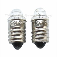 2017 Hot Sale Promotion Professional Ce Lamp Edison Edison E10x22 3v 0.25a New!miniature Lighting Bulbs A013
