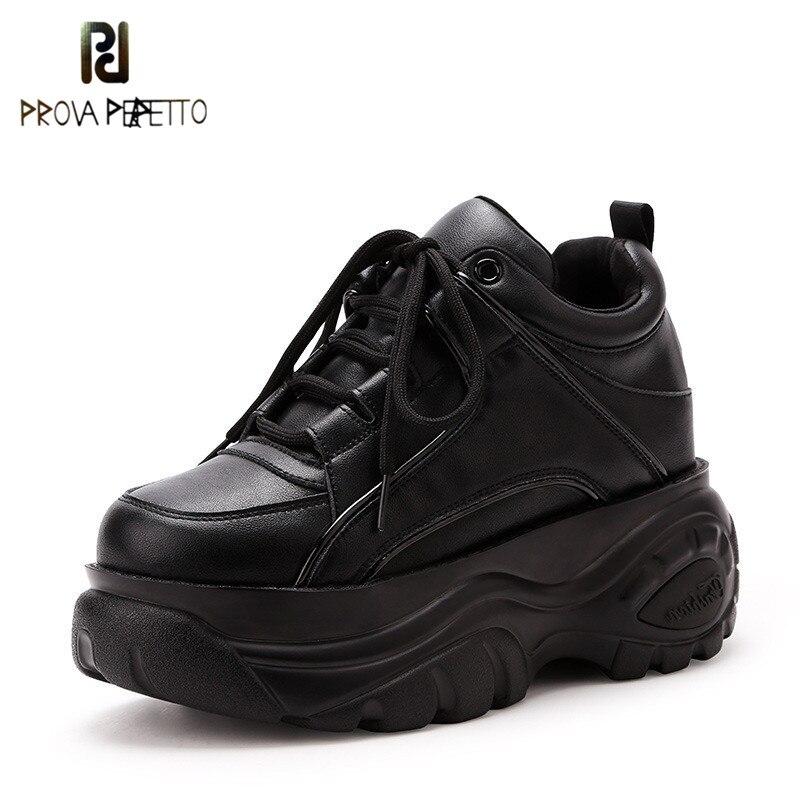 Prova perfetto Casual thick soled women s shoes Spring autumn New Super fire fashion retro high