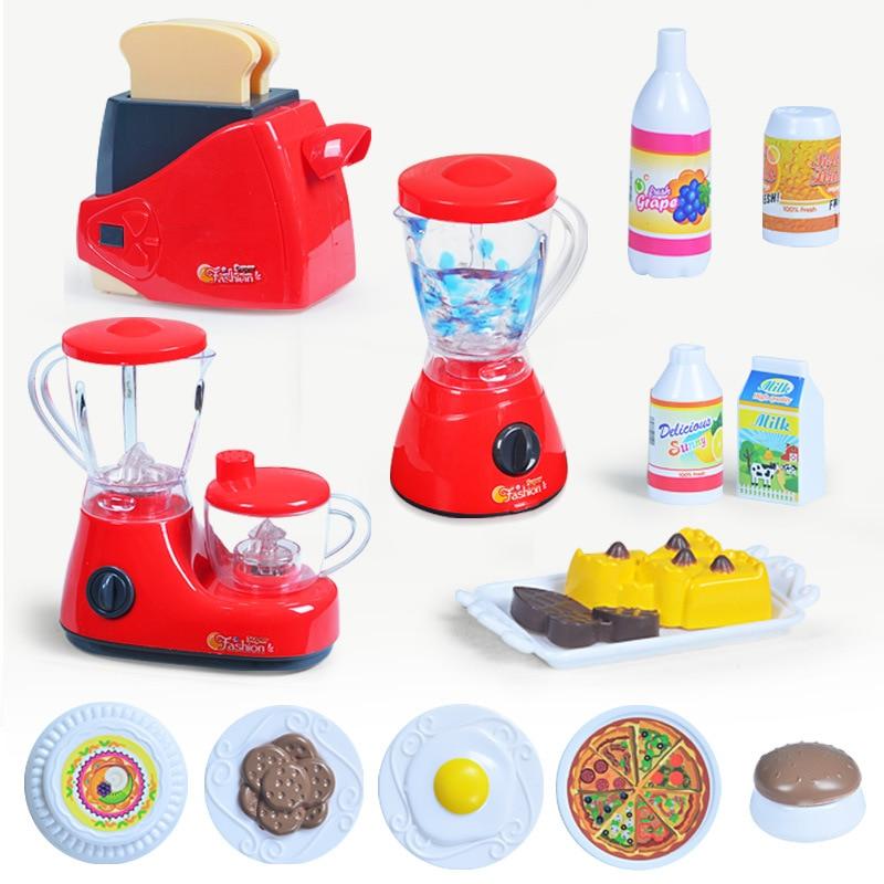 Kitchenware Toys Kids Simulation Toy Kitchen Pretend Play Home ...