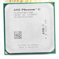 משלוח חינם AMD Phenom II X4 965 3.4 GHz Socket AM2 + AM3 938 ארבע ליבות מעבד 2 M L2/L3 6 M שולחן העבודה מעבד