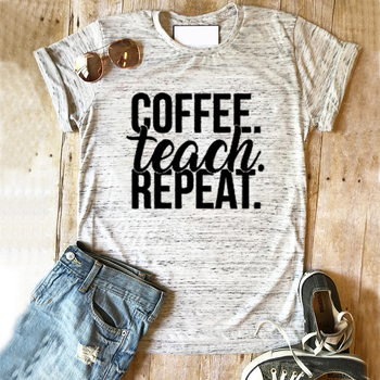 Women Happy Hippie Tshirt Streetwear Good Vibes Top Coffee Tee Mama Needs Coffee Shirts Game Day Tops Summer Plus Size