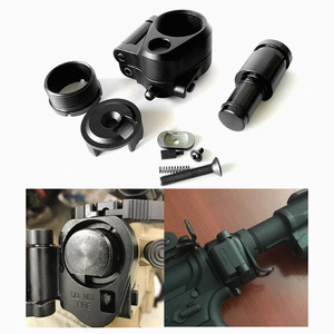 Image 1 - ملحقات الصيد FIRECLUB التكتيكية AR للطي الأسهم محول ل M16/M4 سلسلة GBB(AEG) ل Airsoft