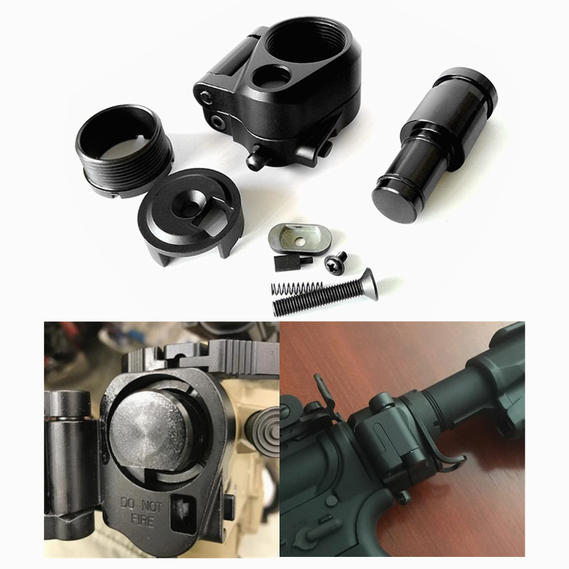 FIRECLUB Hunting Accessories Tactical AR Folding Stock Adapter For M16/M4 Series GBB(AEG) For Airsoft(China)