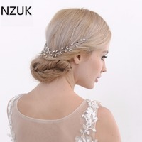Kristall Perlen Pageant Kopfschmuck Blumen Braut Haar Strass Prom Kopfschmuck Brautjungfer Mädchen Hochzeit Haarschmuck HP21