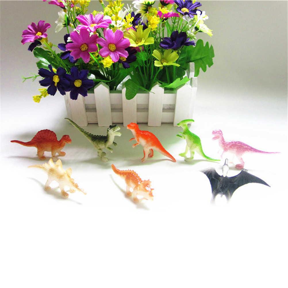 8 pz/lotto Hobby Bambini Mini di Plastica di Piccole Dimensioni Dinosaurus Figure Dinosauri Modello Carino Animali Regali Ragazzi Giocattoli