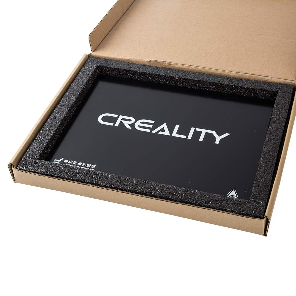 Creality 3D Ultrabase Glass Plate Platform Heated Bed Build Surface For CR-10 Mini MK2 MK3 Hot Bed 3D Printer Part 235*305*4mm
