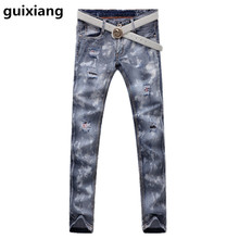 2017 Men's casual fashion high quality jeans Men's famous brand trend of the classic jeans men size 28-36