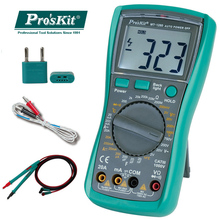 цена на Brand Pro'sKit Original MT-1280-C 3 1/2 Digital Multimeter DC AC Voltage Current Capacity Resistance
