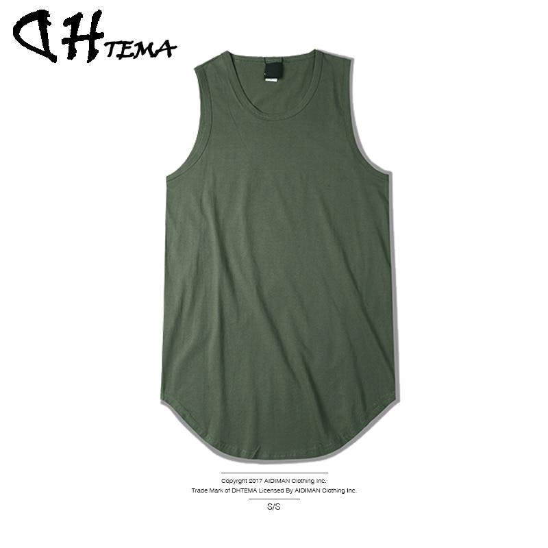 DHTEMA Brand font b Men s b font T shirts Summer Cotton Slim Fit Men Tank