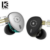 AK KB EAR KB06 6 Driver 2BA+1DD Hybird Technology in Ear Earphone Bass DJ Running Sport HIFI Headset Mini Earbud KEEAR F1/KB10