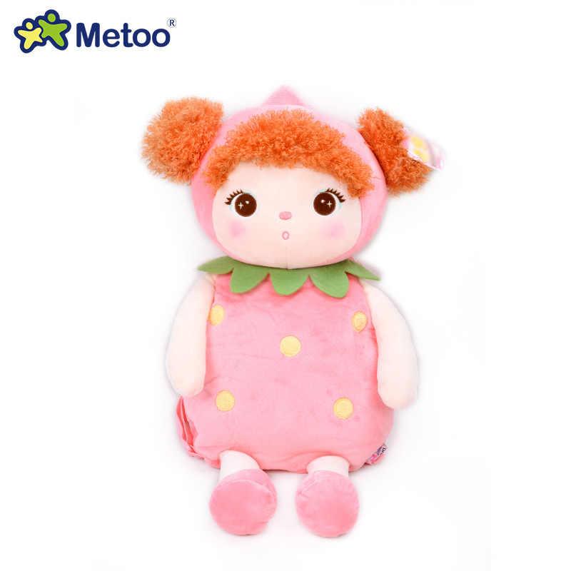 Metoo Kids Cho Bé Túi Động Vật Hoạt Hình Đồ Chơi Búp Bê Trẻ Em Túi Dành Cho Mẫu Giáo Angela Bé Gái Hình Thỏ Gấu Trúc Sang Trọng Ốp Lưng