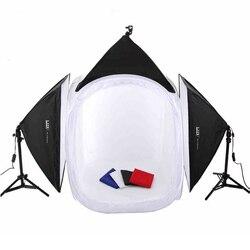 Adearstudio 80 cm proste Studio sprzęt zestaw biżuterii pole światła oświetlenie fotograficzne namiot światła kamery 80 cm CD50 w Akcesoria do studia fotograficznego od Elektronika użytkowa na