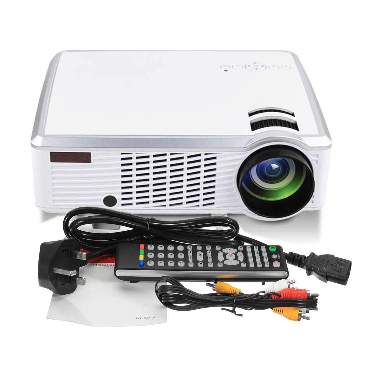 1080 P HD 5000 люмен 3D светодиодный проектор домашний кинотеатр Мультимедийный USB AV с пультом дистанционного управления для домашнего кино ТВ-ноутбука Gam