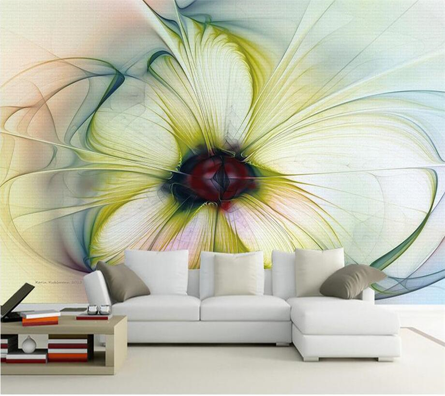 Beibehang 3D Wallpaper Abstract Multicolored Mural Living Room Bedroom TV Background Home Decoration Murals Wallpaper 3D Photo