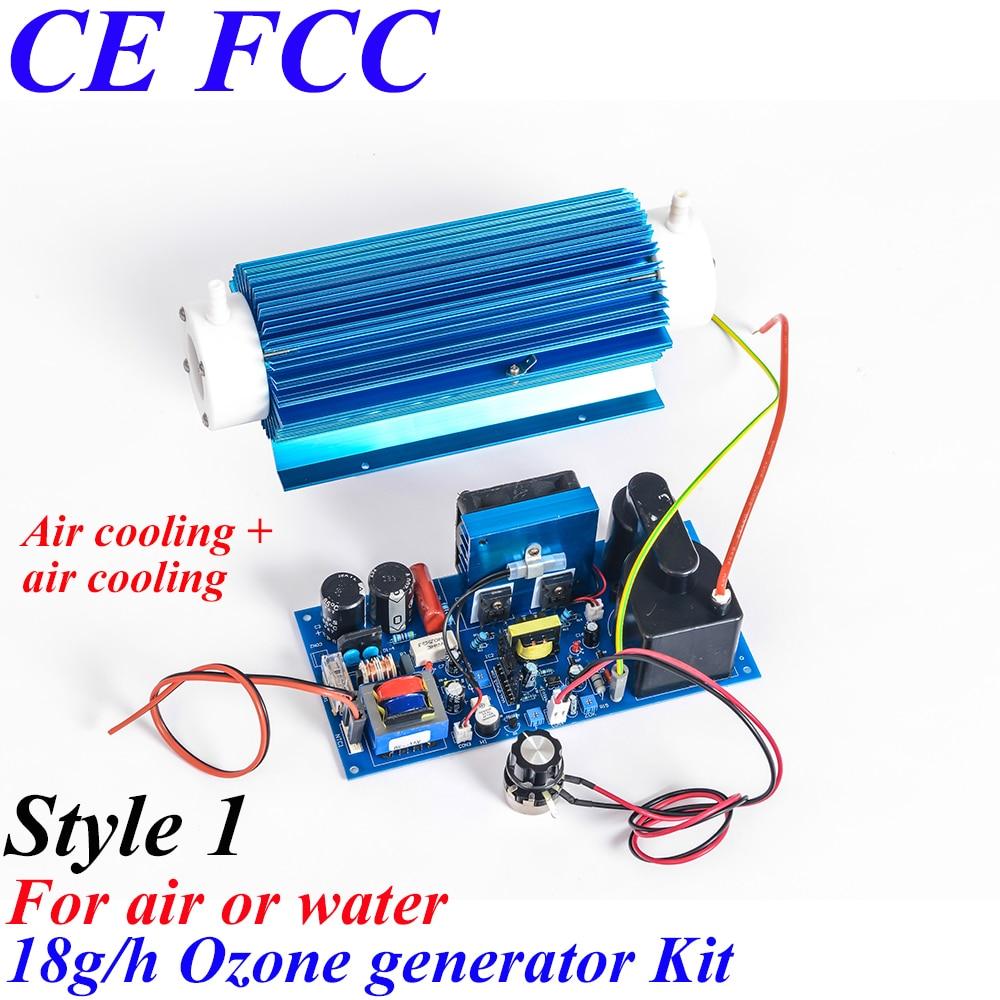 Pinuslongaeva CE EMC LVD FCC 18g/h Quartz tube type ozone generator Kit ozone steam sauna ozone therapy equipment цены онлайн