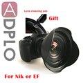 Чехол ADPLO для цифровых зеркальных камер pentax 15 мм f/4  ультраширокоугольный объектив  подходит для цифровых зеркальных камер Nikon Canon  ручка для ...
