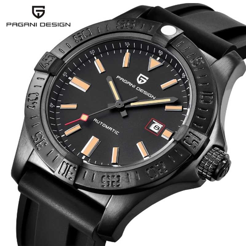все цены на Watch men's luxury brand PAGANI DESIGN military watch large dial multi-function quartz watch reloj hombre онлайн