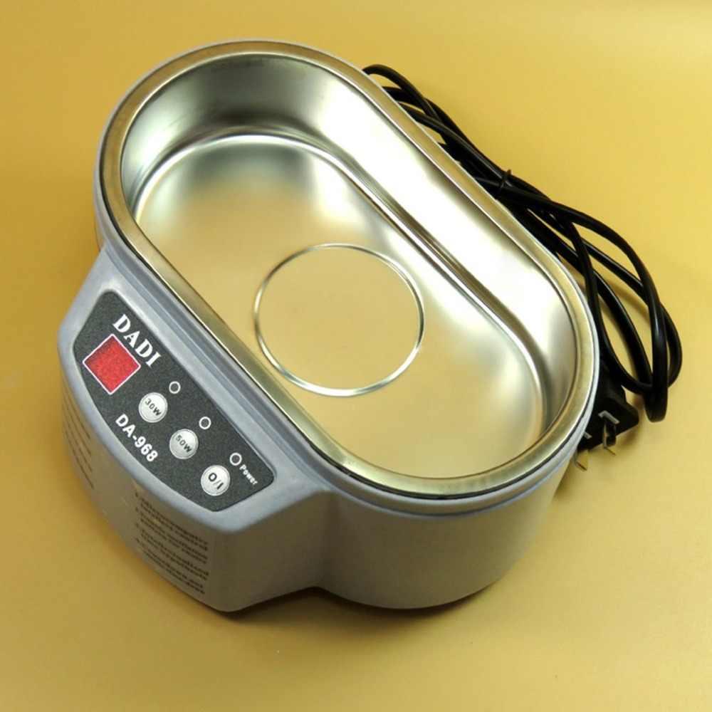 สมาร์ททำความสะอาดอัลตราโซนิก Anti - ลื่นสแตนเลส Ultrasound Wave ซักผ้าสำหรับแว่นตาเครื่องประดับ Ultrasound Bath