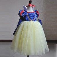 Spring/summer 2018 Snow White dress color butyl shawl girls dress Flower three piece custom dresses of the girls