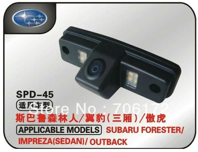 Factory selling Special car Camera reversing reverse camera backup camera for SUBARU Forester & SUBARU Impreza (3C)