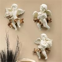Roman Mythology Love Angel Cupid Resin Wall Hangings Creative Bedroom Bedside Background Wall Art Decoration X2015