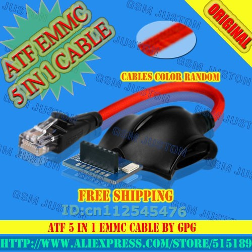 ATF 5 IN 1 EMMC CABLE-GSM JUSTON