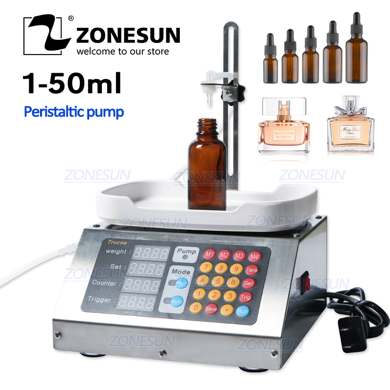 ZONESUN 0-50ml Small Automatic CNC 110V-220V Perfume